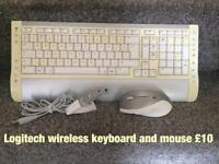 Wireless keyboard and mouse RECUCED