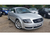 2002 AUDI TT 1.8 QUATTRO COUPE 180BHP,TIMING BELT DONE!!ONLY 2 OWNERS,VERY GOOD COND.