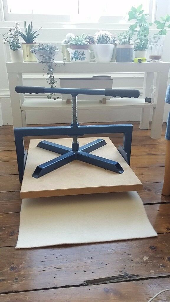 Blueboy printing press