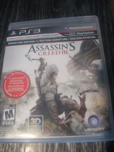 Jeu PS3 Assassin's Creed 3