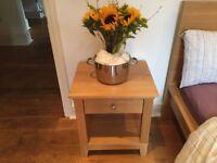 IKEA Oak Bedside Table