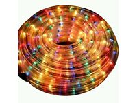 LED CHRISTMAS DECORATION WATERPROOF INDOOR OUTDOOR XMAS PARTY WEDDING ROPE LIGHTS 20M