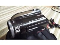 Panasonic HDC-HS25 Full HD 1920x1080 16x Optical zoom. SD/HDD Hybrid.