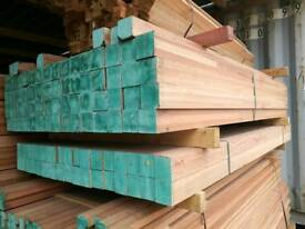 3x3 Engineered Eucalyptus Hardwood 2.1mtr Lengths