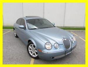 2005 JAGUAR S-TYPE *LEATHER,SUNROOF,LOADED,LOW KMS!!!*