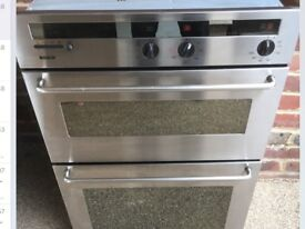 Integrated Bosch double oven, like new, could deliver