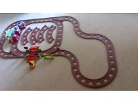 ELC Happyland Country Train Set & 2 Railway Track Extension Sets
