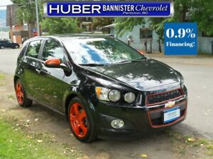 2013 Chevrolet Sonic Turbo/Leather/Sunroof