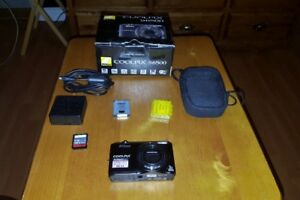 Nikon Coolpix S6500 (Includes All Accessories, Plus Extras)