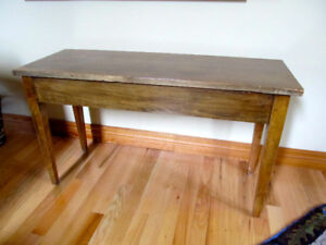 Great Old Retro Piano Bench - Great for side table or anything