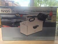 Hinari 3L deep fat fryer, brand new never used