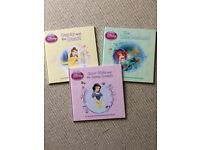 Disney Princess Children's Books set of 3