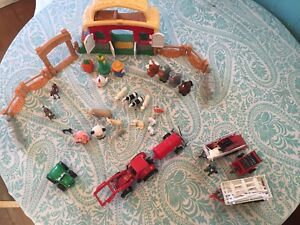 Fisher Price little people farm and friends toy set