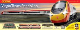 Weathered Virgin Pendolino, Hornby Trainset