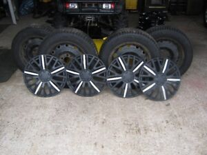 For sale,Tires,Rims and wheel covers.
