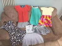 Girls dresses excellent condition 6-8yrs
