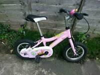 Ridgeback Minnie 12 in. bike - aluminium frame - RRP £130