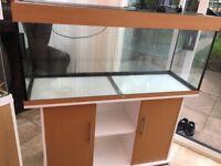 240L fish tank & stand.