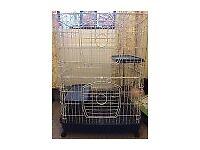 Cage for chinchillas, rats, ferrets