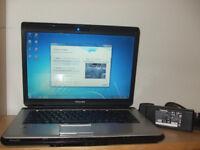 Toshiba satellite Core Due Laptop (wi fi and internet ready)