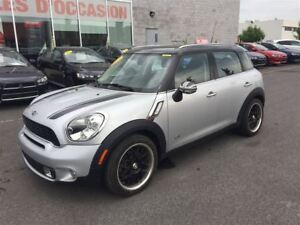 2013 MINI Cooper Countryman S AWD NAVIGATION+CUIR+TOIT PANORAMIQ
