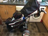 Motocaddy S1 Pro,36 Hole Lithium With Motocaddy Pro Series Cart Bag Plus Extras