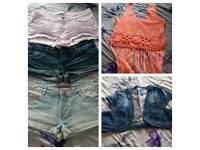 Women's size 10-12 clothes bundle