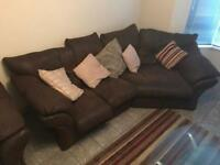 4 Seater and 1 seater sofa