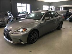 2015 Lexus IS 250 Awd F-SPORT**ONE OWNER**FULLY LOADED!
