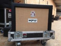Orange AD30 Dual Channel Combo with flight case.