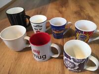 7 mugs / cups