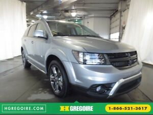2015 Dodge Journey Crossroad AWD CUIR TOIT CAMÉRA BLUETOOTH 7 PA