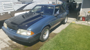 1987 mustang coupe LX 5.0 turbo