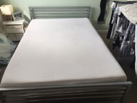 Metal double bed frame *mattress not included*
