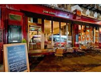 Chef De Partie at Jam Circus - starting salary £8.5 p/h - full time
