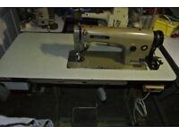 BROTHER Industrial lockstitch/Flatbed sewing machine Model DB2-B716-403 Single Phase,
