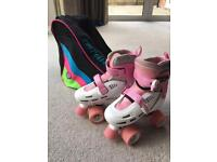 Roller boots and bag