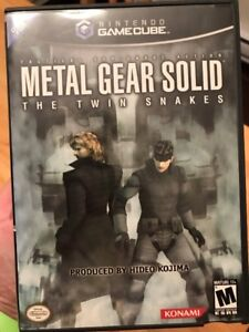Metal Gears Solid The Twin Snakes Game Cube