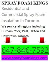 Spray Foam Insulati0n Contractors (647) 846-7592