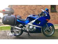 Kawasaki ZZR600 motorcycle