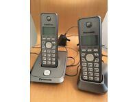 Panasonic home telephones x2