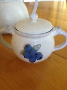 Blueberry Tea Set - Handcrafted in Nova Scotia