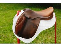 "Frank Baines 17"" Elan Jump Saddle"