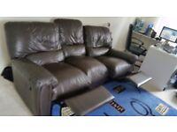 Leather Sofa - 3 seater