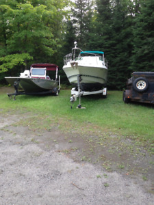 Outdoor RV, Boat, Trailer Storage and camping near Parry Sound
