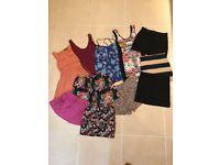Ladies skirt dress play suit bundle size 6/8/10