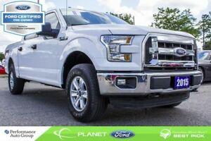 2015 Ford F-150 XLT|3.5L|V-6|4X4|SUPERCREW|FORD CERTIFIED