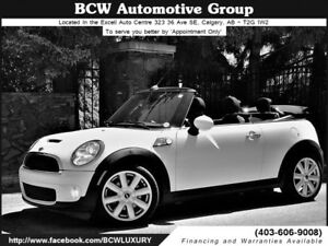 2010 MINI Cooper Convertible S Low KM Certified WOW! $17,995.00