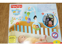 New In Box Fisher-Price Precious Planet Wind Up Cot/buggy Mobile