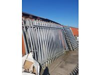 security fencing for sale £50 a panel some posts and gates available
